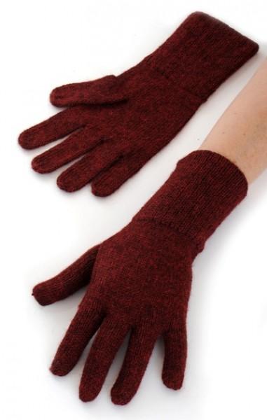 Alpaka Handschuhe Rot