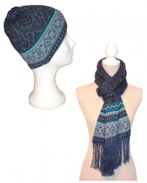 Set Aixa (Mütze und Schal)