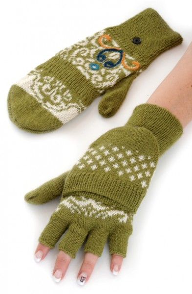 Handschuhe Wiese