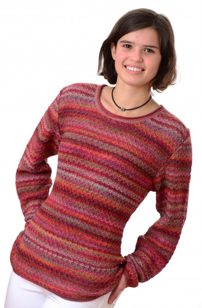 Alpaka Rundhals Pullover Nima