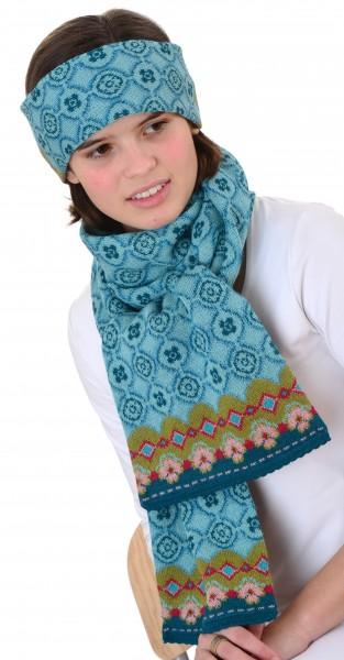 Set Anke (Stirnband und Schal)