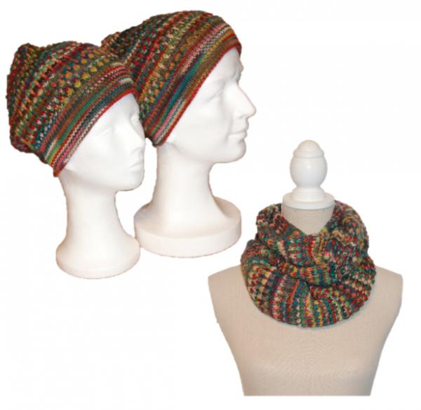 Set Amelie (Mütze und Schal)