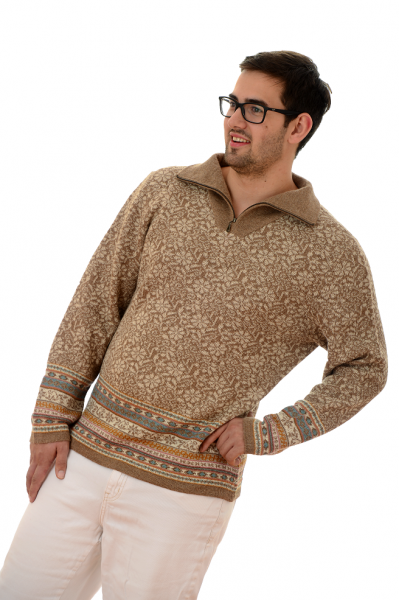 Alpaka Pullover Troyer Lucia